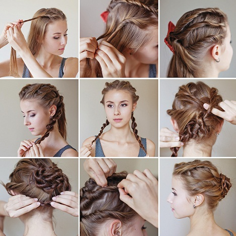 Indian Juda Hairstyles Step By Step For Long And Short Hair
