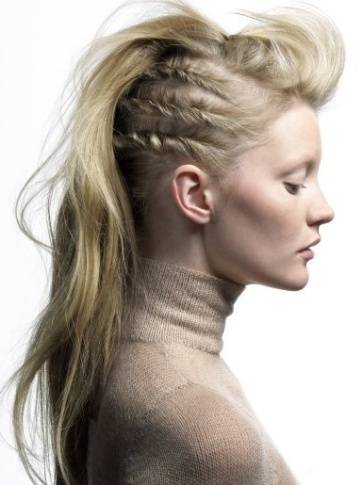 funky hairstyles for long hair5