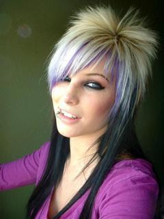 funky hairstyles for long hair7