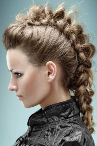 funky hairstyles for long hair8
