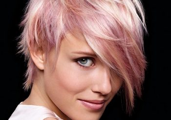 Short Pink Hairstyle Ideas