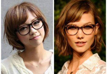 The best Short Hairstyles to Wear with Glasses