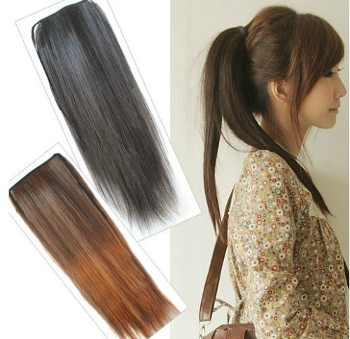 Ponytail extensions 4