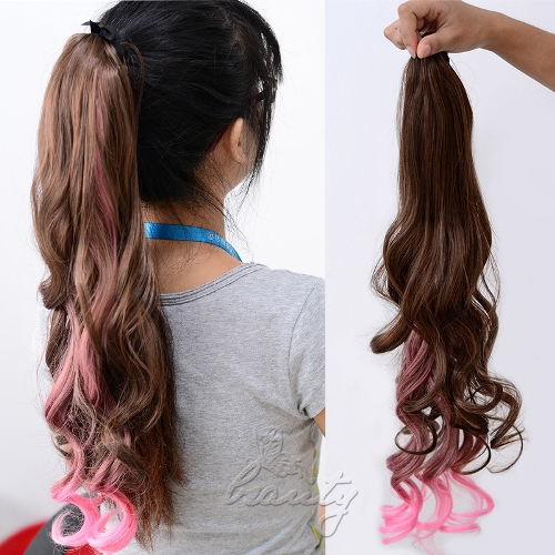Ponytail extensions 5